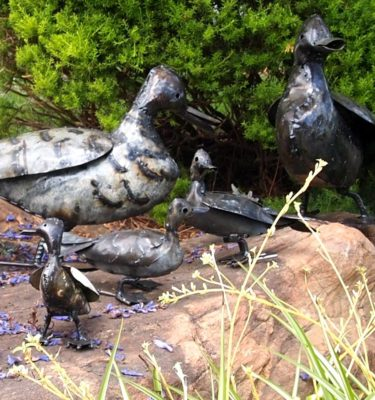 Ducks - Metal Garden Art