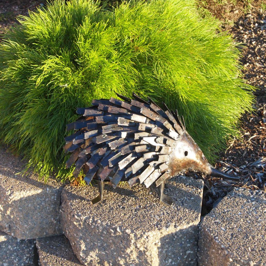 Garden Of Art: Echidna- Metal Animal Art