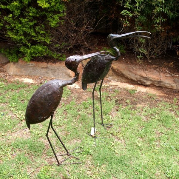 IBIS-Metal Garden Sculpture
