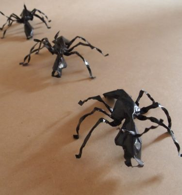 The Ants are handmade from recycled metal makes a unique gift
