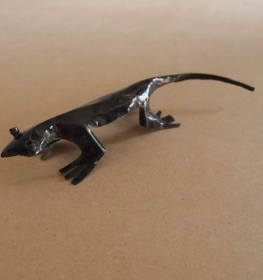 The Chameleon Lizards are handmade from recycled metal makes a unique gift