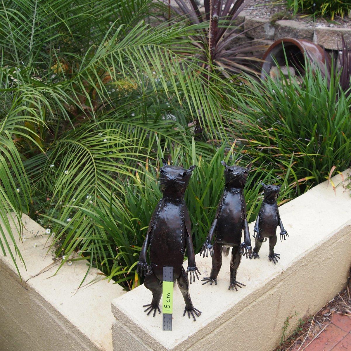 Garden Of Art: Family Of Meerkats