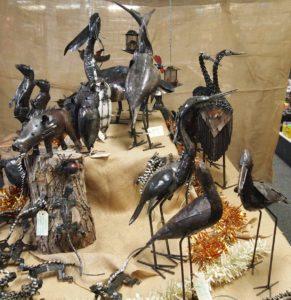 Recycled metal Sculptures